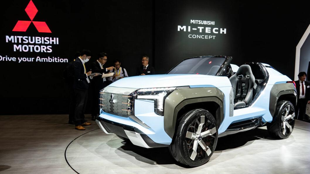 LUFT I LUKA: Mi-tech fra Mitsubishi.