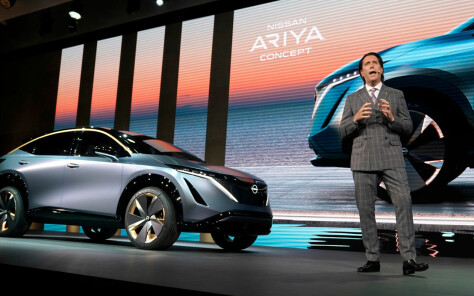 Her er Nissans neste lekre el-SUV