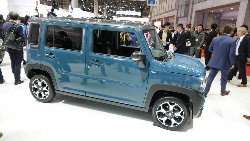 NAVNET SKJEMMER INGEN: Suzuki Hustler.