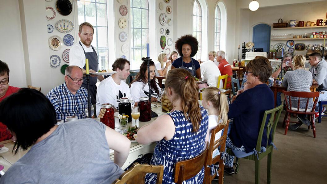 UNORSK OG MORSOMT: Philip Womersley er engelsk og kokk på Lokstallen i Brandbu, en av våre favoritter.