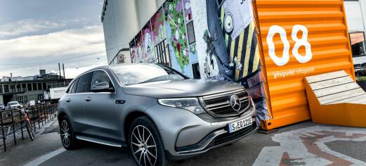 Mercedes tilbakekaller elbilen EQC