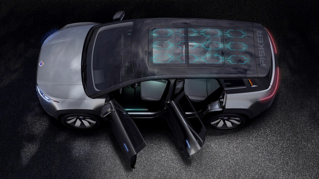 ELEKTRISK NYKOMMER: Den helelektriske SUV-en Fisker Ocean får verdenspremiere 4. januar 2020, og blir en direkte konkurrent til Tesla Model Y.
