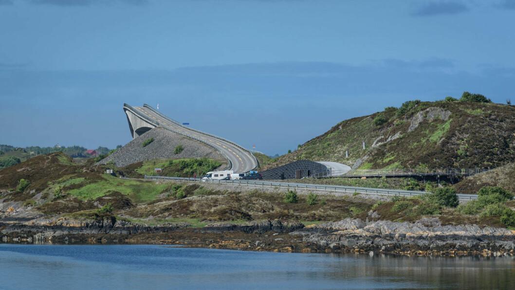 HAVORMEN: Eldøya langs Atlanterhavsvegen. Foto: Roger Ellingsen