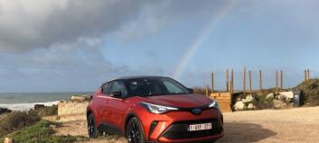 Toyota lar SUV-fornuften skifte farge