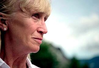 Karin kjører med hjertet i halsen på Norges farligste vei