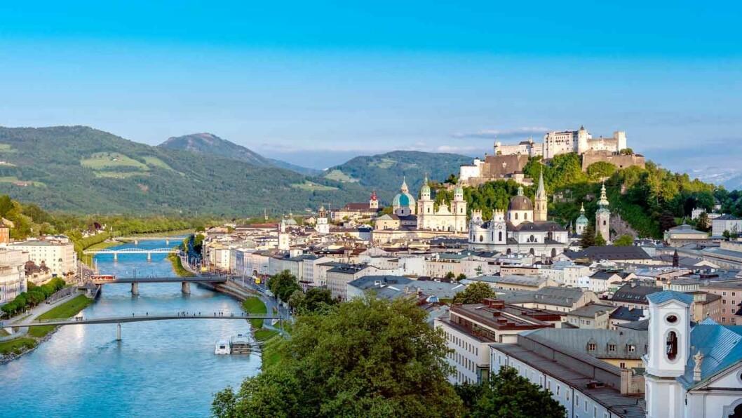 MOZARTS FØDEBY: I 2020 feirer Salzburg 100-års jubileum for Salzburg Festival.