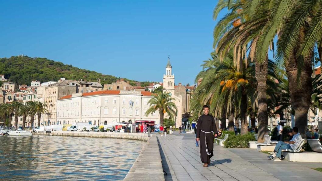 HAVNEBY: Split er en liten storby med en sjarmerende gamleby. Foto: Siv-Elin Nærø