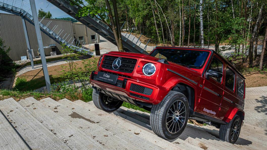 LILLEBROR: G350d er den av de fire G-klasse-modellene som har best salgstakt, i følge Mercedes. Pris: Nær 1.800.000 millioner.