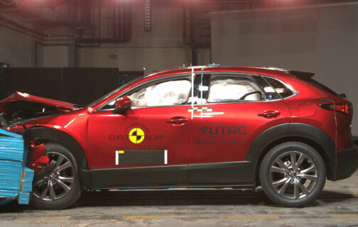 Superscore for Mazda i ny krasjtest