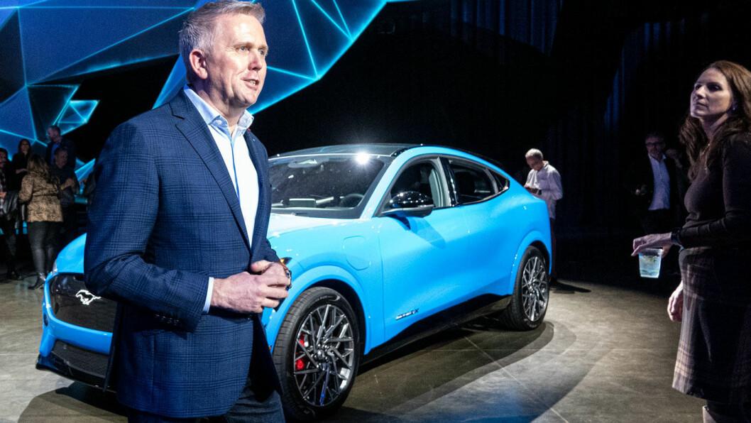 OPTIMIST: –Mustang har alltid skullet være en relativt rimelig bil som er tilgjengelig for alle. Det gjelder mer enn noen gang, sier Fords Europasjef Stuart Rowley.