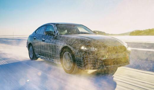 BMW lover rask lading og 600 km rekkevidde