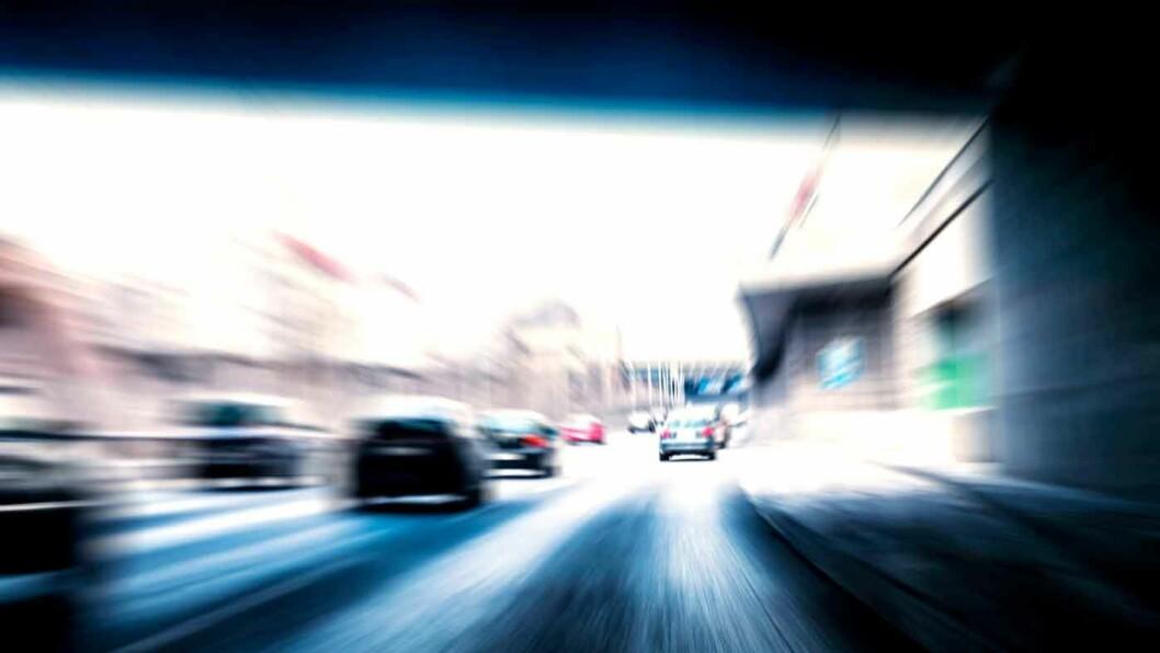 FARTEN DREPER: Men når ulykken først er ute er det stor forskjell på beskyttelsen bilen gir. I nyere biler er risikoen for død og invaliditet lav, mens de mest utrygge bilene i trafikken i dag ble produsert på 1980- og 90-tallet. Foto: Illustrasjonsfoto