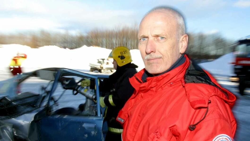 SKADENE HAR ENDRET SEG: For 15-20 år siden var det flere alvorlige skader på hode, nakke, bryst og buk, erfarer Trond Boye Hansen, tidligere ambulansesjåfør. Foto: Lars H. Jacobsen, VG