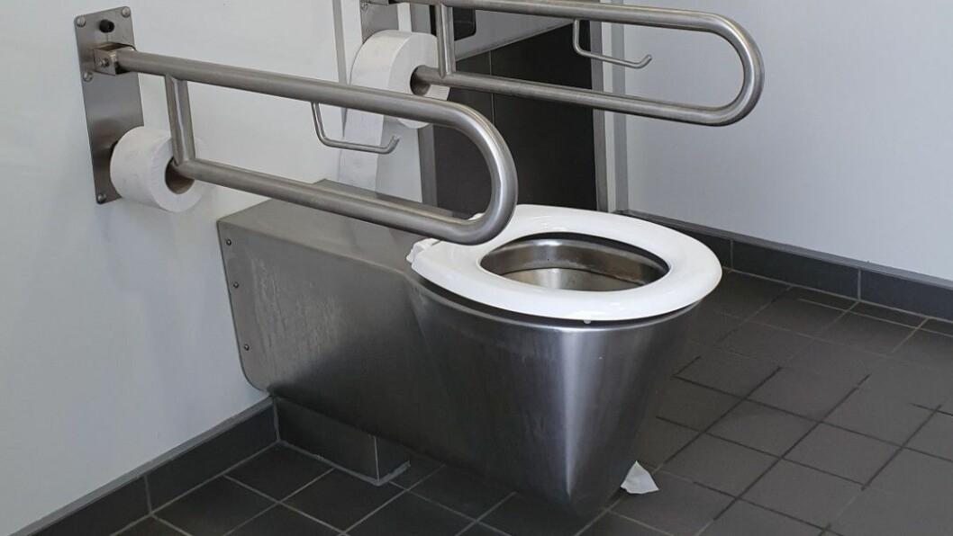 RENT: På de nye toalettene langs veien er sjansen mye større for at det er rent. Foto: Johan Nøkleholm