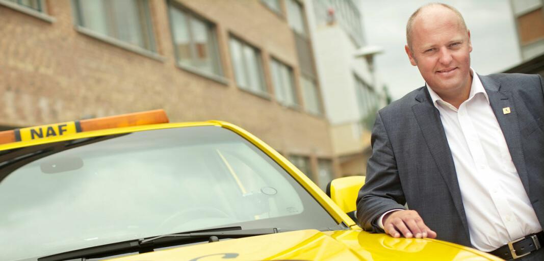 <b>KRITISK:</b> NAF-sjef Stig Skjøstad mener statsbudsjettet markerer starten på en avgiftsbølge.