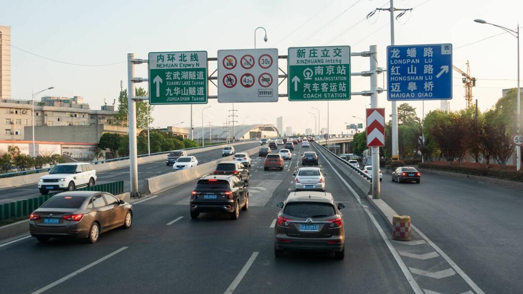 GÅR GRØNT: Hver fjerde nye bil i Kina skal være elektrifisert fra 2025. Foto: Peter Raaum