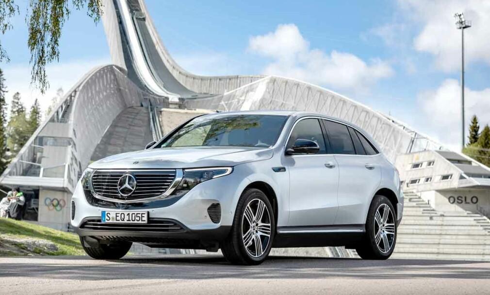 Mercedes-Benz EQC tilbakekalles for svakhet ved batteriet