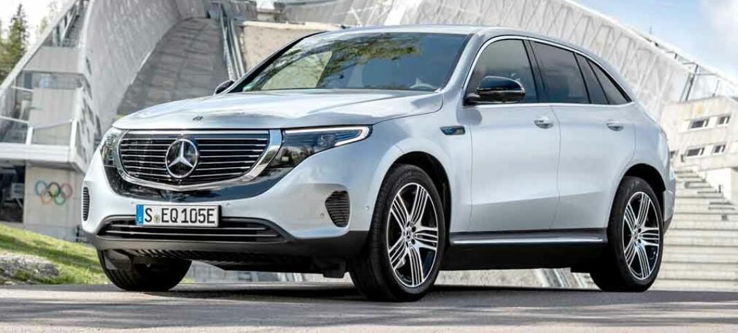 Elbil løfter Mercedes til historisk salgstopp