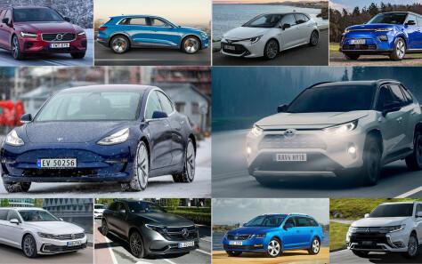 Her er 10 av årets herligste biler (og beste kjøp!)