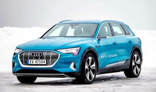 Audi e-tron – bilen vi helst kjører mellom ladestasjonene med