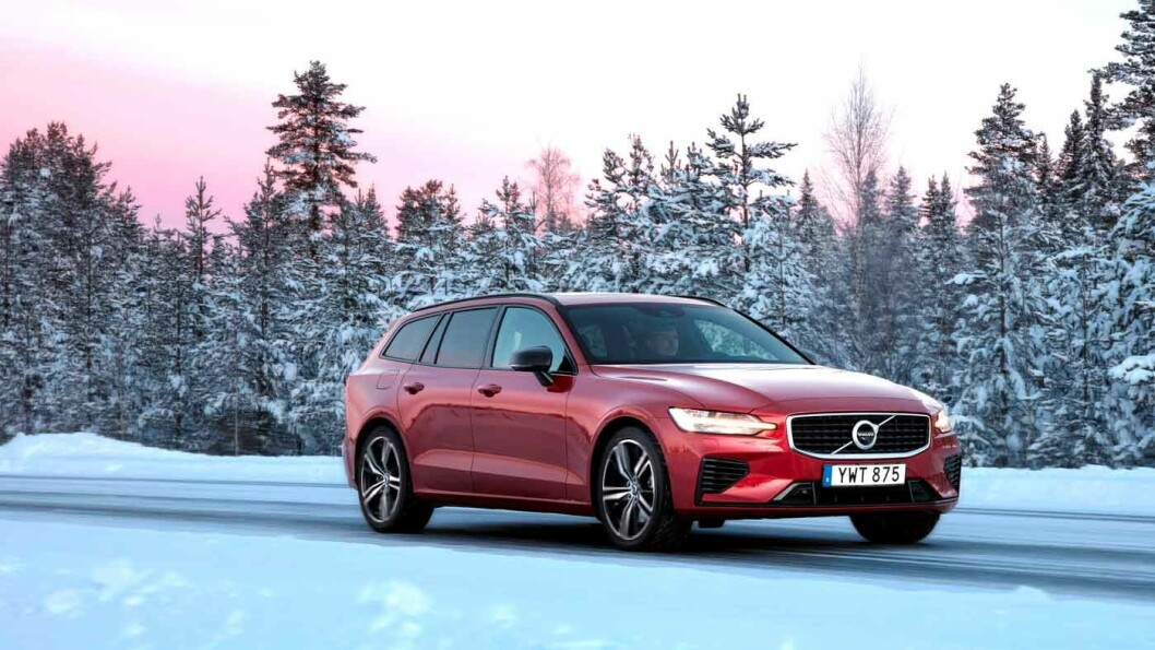 LADBAR HYBRID: Du kjører utslippsfritt noen mil, og ganske morsomt og veldig komfortabelt i noen mil til. Foto: Volvo Cars