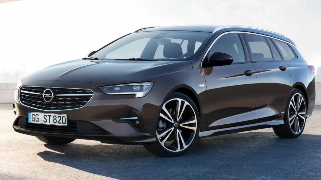 LYSMESTER: Opel er i front på lysteknologi. Det vises på modellen Insignia, som får en facelift i disse dager. Foto: Opel Motor