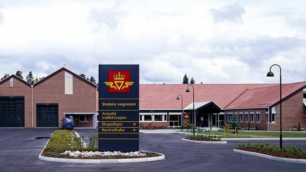 FERDIG: Politietterforskningen mot den tidligere medarbeideren ved Arendal trafikkstasjon og bruktbilselger Geir Egil Olsen er nå ferdig. Foto: Statens vegvesen