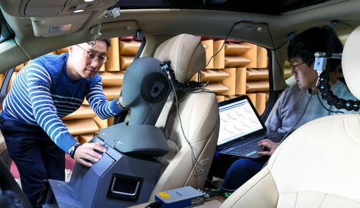 Ny teknologi halverer veistøyen