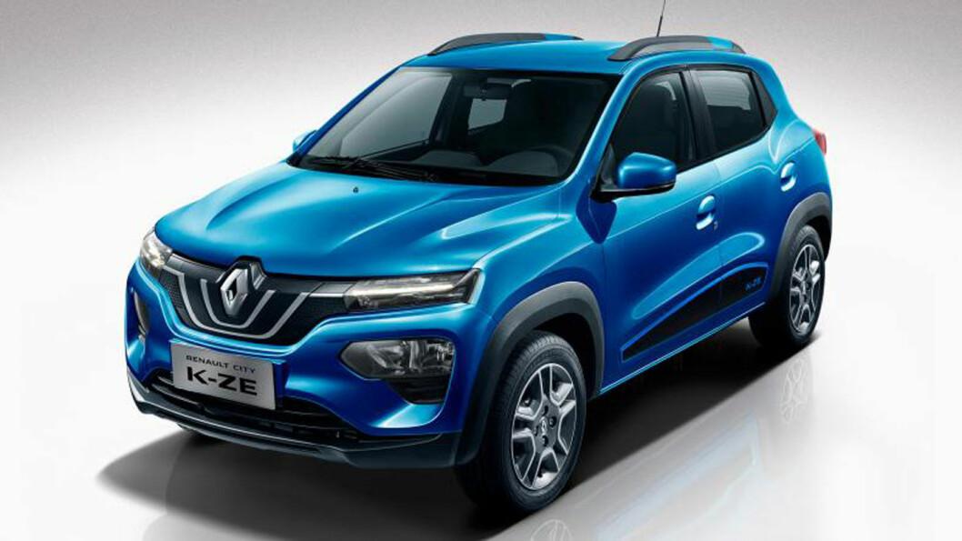 PRISBOMBE: Denne lille elektriske Renaulten blir til Dacia i Europa – og får en meget god pris.