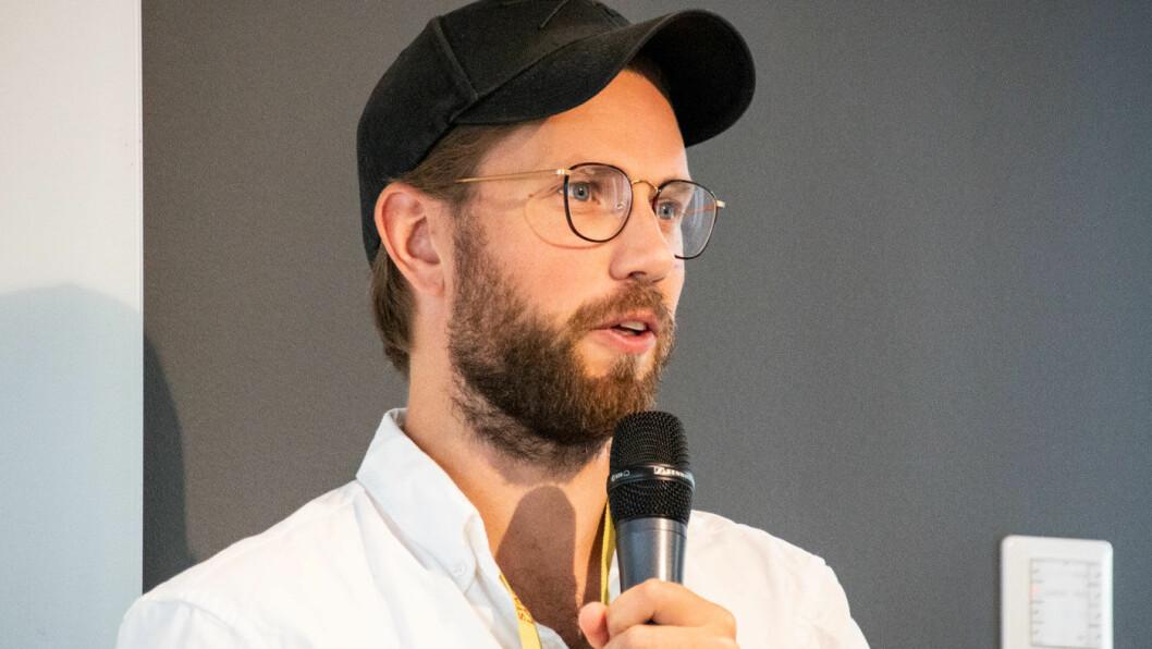 LADEVINNER: – Noe av det aller kuleste på dette feltet i Norge er partnerskapet mellom Tibber og Easee, sier Henrik Hatlebrekke.