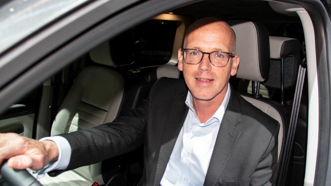 NØKKELEN: – Bildata er nøkkelen til alt, sier John Lippe i Ford Mobility.