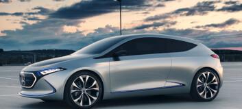 Mercedes lille el-SUV lanseres i løpet av året