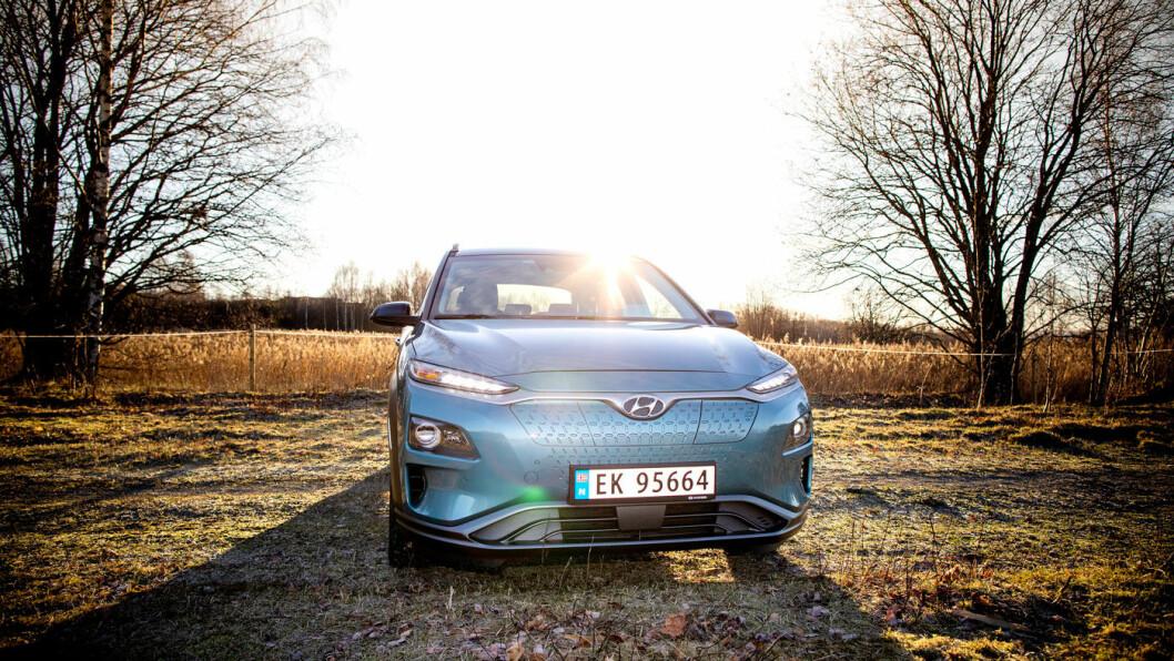 ETTERKOMMERE: Hyundai Kona var konsernets mestselgende bil i Norge i 2019, en plass foran Hyundai Ioniq. Nå varsler konsernet en rekke nye helelektriske modeller.