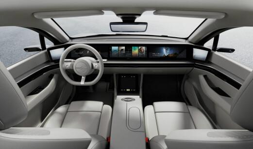 Slik tenker TV-gigant høyt om morgendagens bil