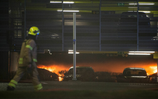 Så sjelden brenner elbilene