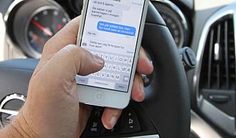 Mistet lappen etter «bare et blikk» på mobilen