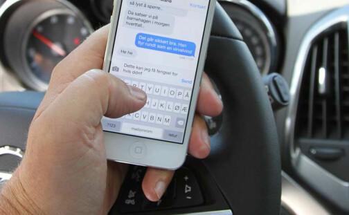 Mobilbruk i bilen gir færre alvorlige ulykker