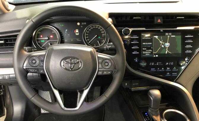 Nærmere halvparten velger Toyota