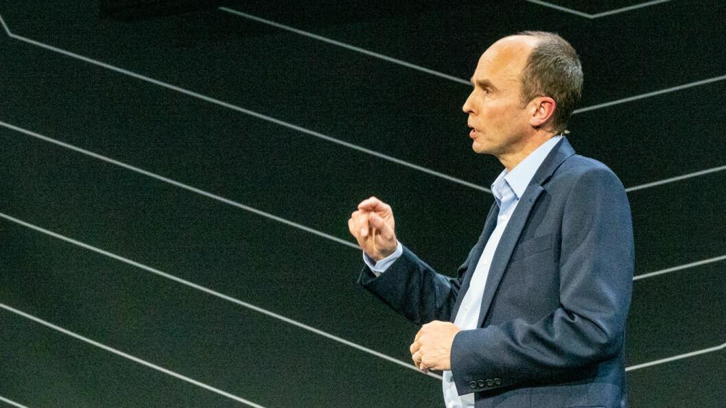 TOYOTA-TOPP: Matt Harrison under Kenshiki-forum i Amsterdam tirsdag.