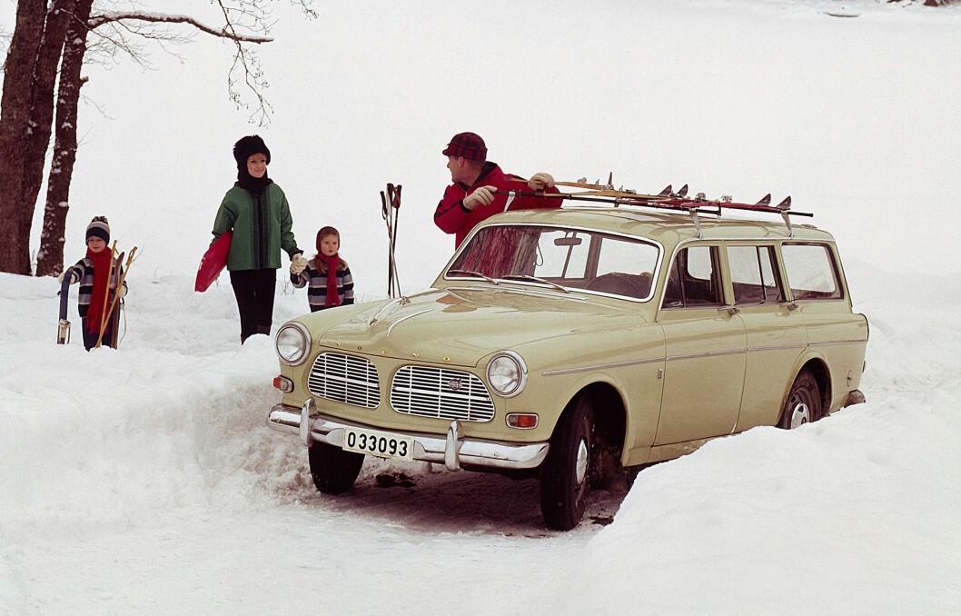 NORSK SUKSESS: Volvo Amazon ble designet av nordmannen Jan Wilsgaard og ble en stor suksess også i Norge utover 60-tallet. Foto: Produsenten