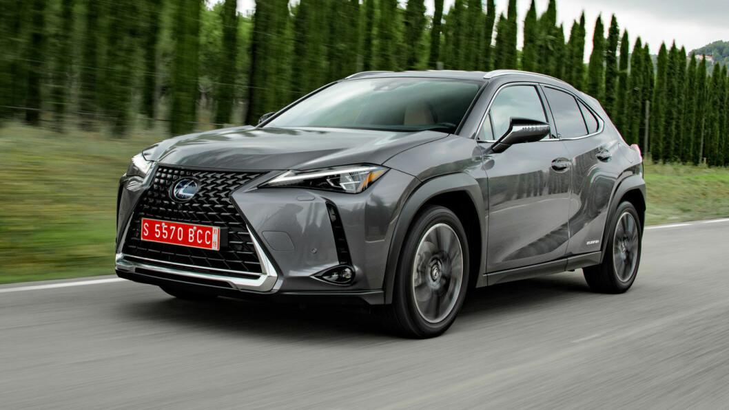 PÅ TOPP IGJEN: Lexus kommer helt øverst på rangeringen til Consumer Reports over de mest driftssikre bilene. Bildet viser den nyeste modellen, UX. Foto: Lexus