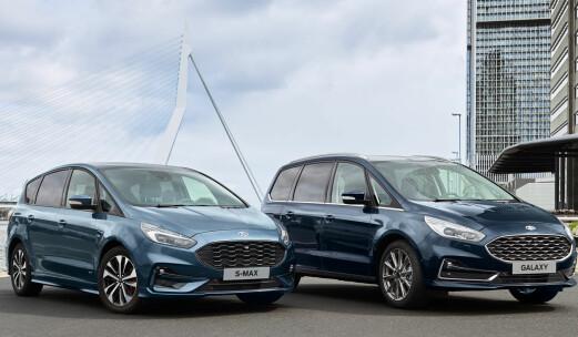Ford S-Max blir hybrid