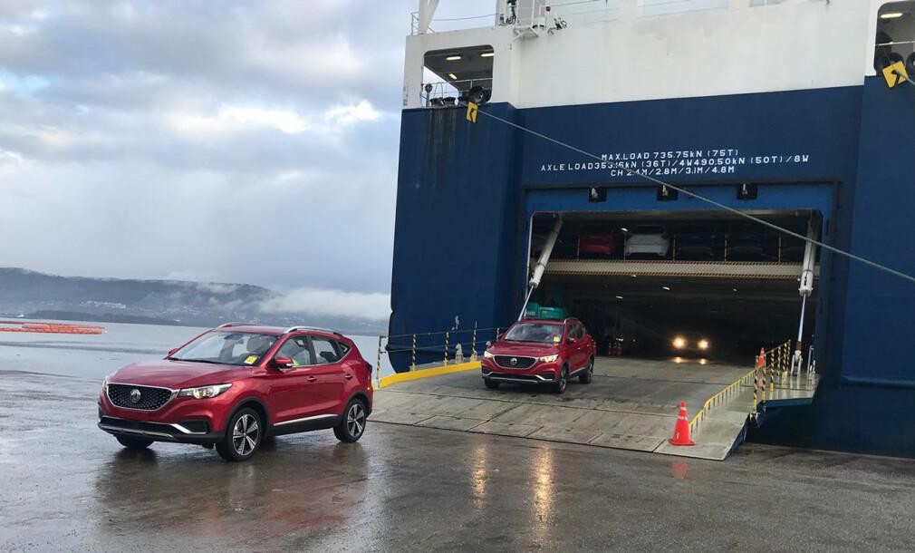 Her ruller de første Kina-bilene for salg i Norge