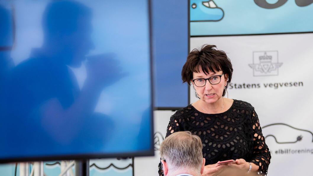 ADVARER: Inger-Lise M. Nøstvik i Drivkraft Norge frykter for fall i salget av biodrivstoff når ny veibruksavgift innføres fra 1. juli. Foto: Tomm W. Christiansen