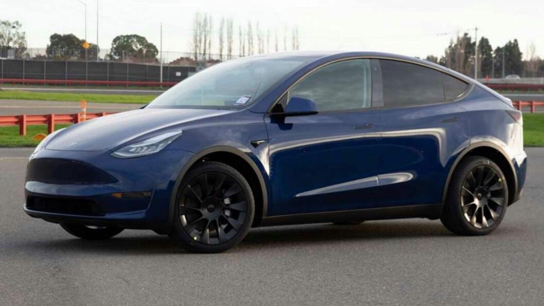 NY TIL GAMMEL: Model Y kommer til gammel pris for de norske kjøperne som reserverte bilen før prisendringen denne uken. Foto: Tesla Motor
