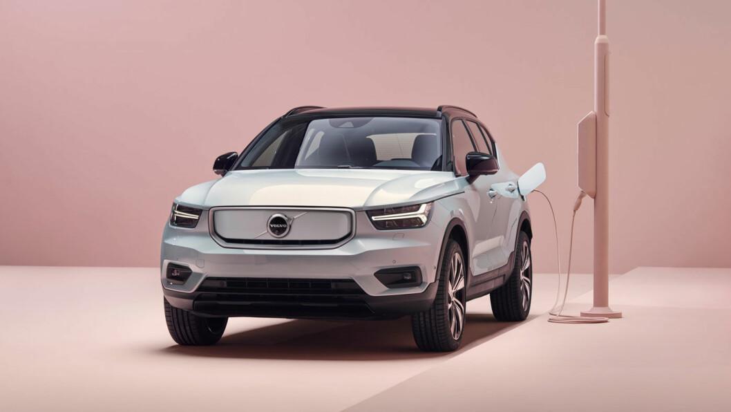 PRISHOPP: Volvo XC40 Recharge går opp 30.000 i pris fra 1. juli – til en startpris på 520.000 kroner.