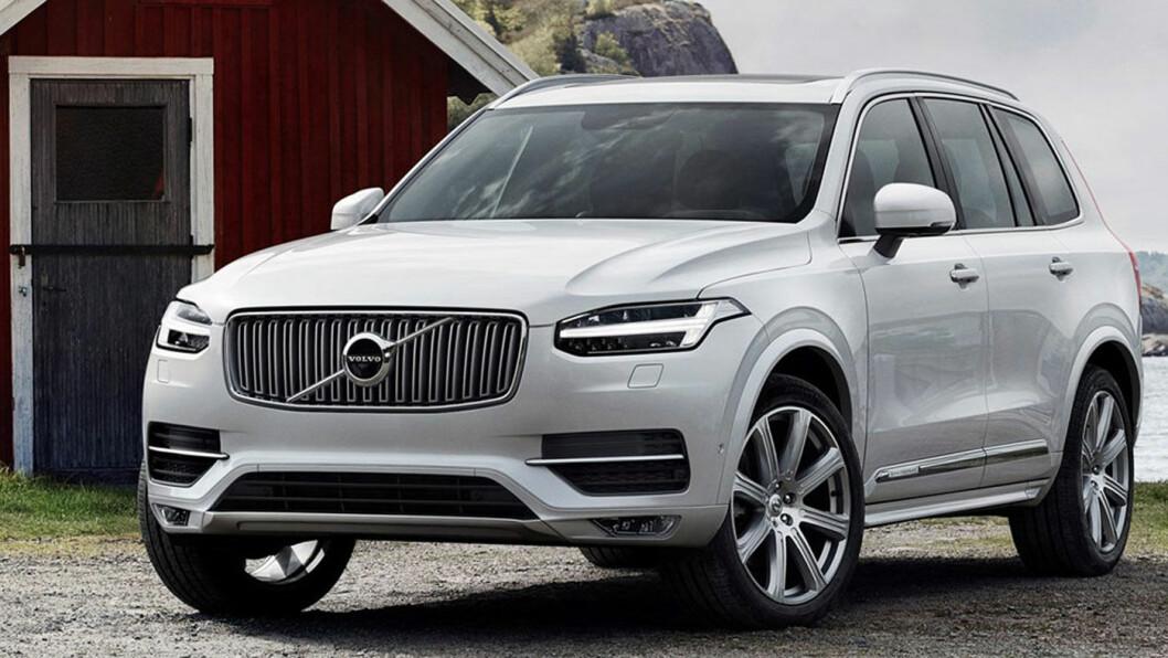 SVAKHET: De siste generasjonene Volvo takler ikke støy fra underlaget like bra som før. Den store luksus-SUV-en XC90 er et eksempel på det.