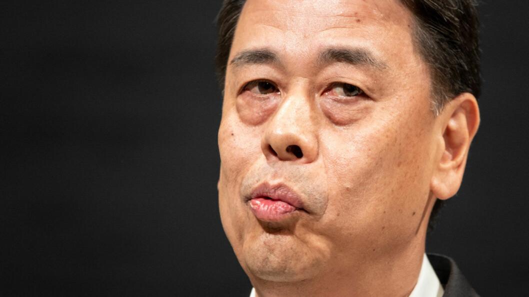 PRØVET MANN: Den nye Nissan-sjefen Makoto Uchida hadde strengt tatt mer enn nok av utfordringer allerede før virusepidemien. Nissan er tungt tilstede i den rammede Hubei-provinsen.