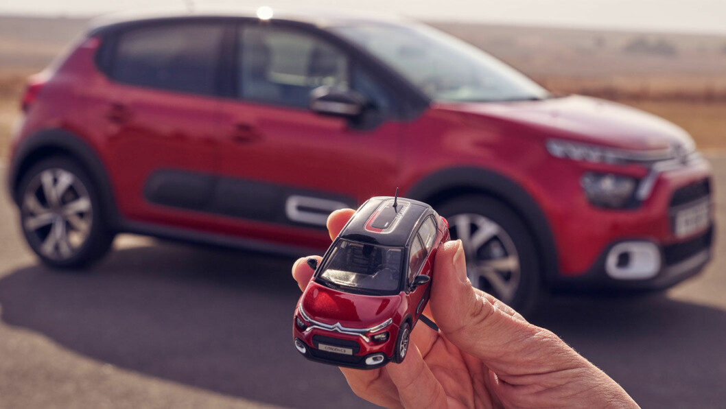 MANGE VALG: Nye C3 kommer med Citroëns karakteristiske støtputer, og mulighet for å velge 16 eller 17 tommers dekk.