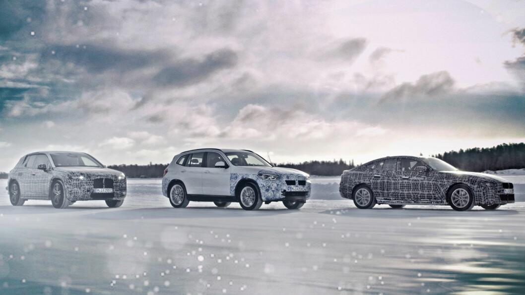 NORDFLÅTEN: Her er BMWs kommende elbiler – iNEXT, BMW i4 og BMW iX3.